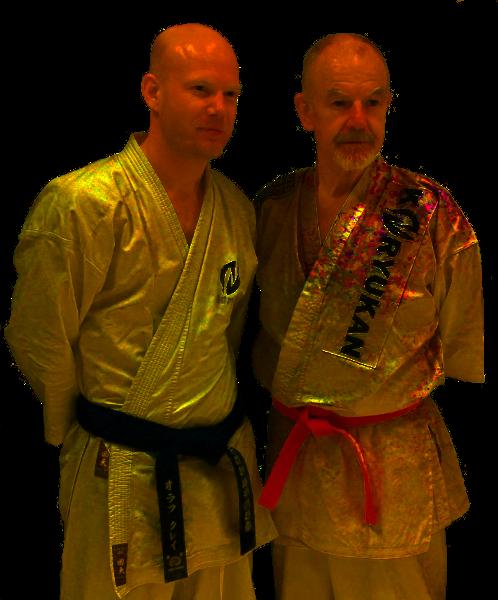 Patrick McCarthy Sensei mit Olaf Krey; Haßloch 2010