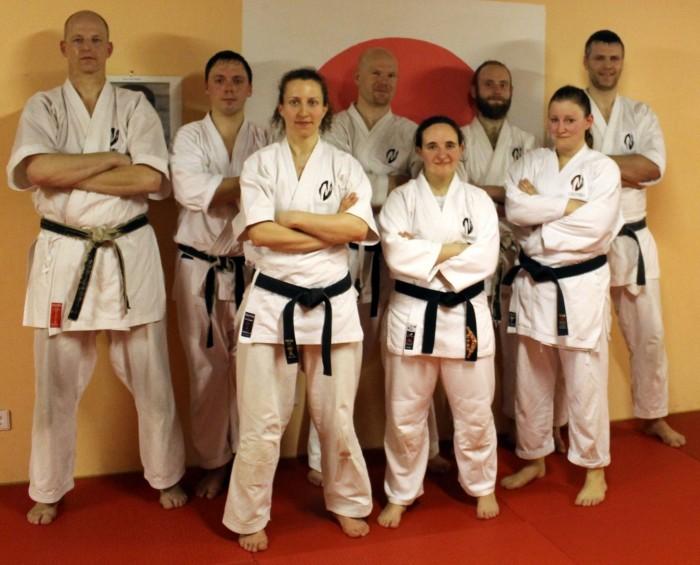 KU Germany Yudanshakai 2016: Bernd, Steve, Olaf, Jesus, Hendrik, Andrea, Dinah, Sabrina