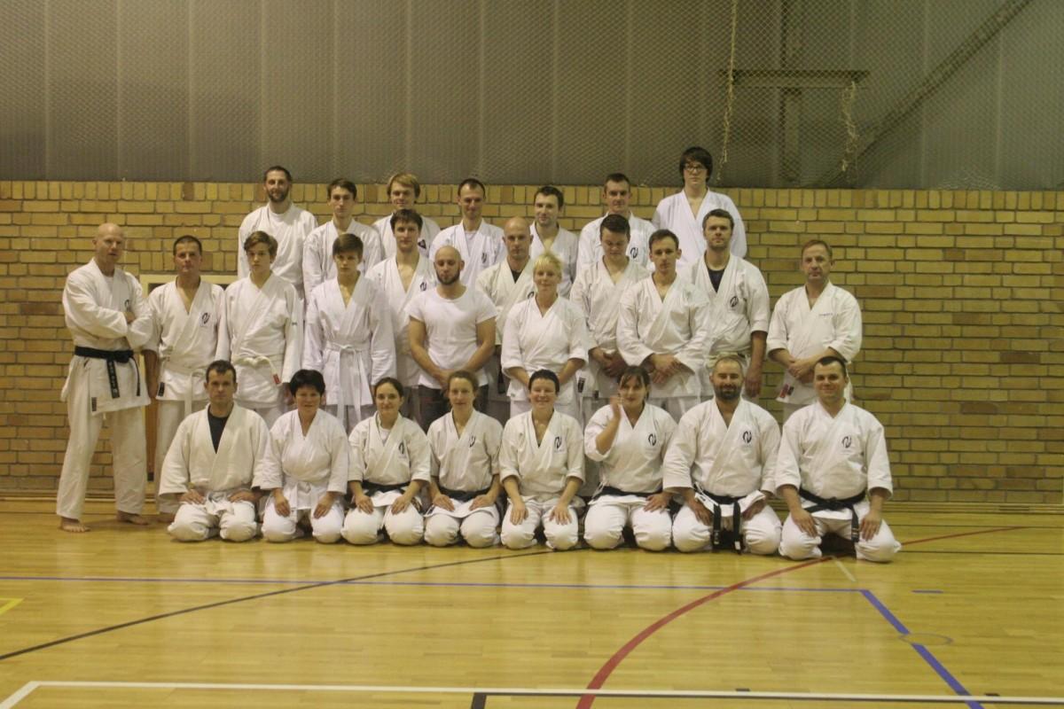 KU Seminar in Zittau 2013, Foto: Karateschule Otomo